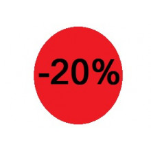 "Etiquettes Diametre 40 ""-20%"""