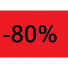 """Etiquettes 38x25 """"-80%"""""""