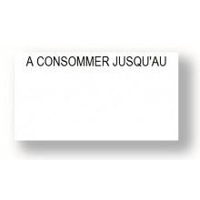 Étiquettes Blanches Préimprimées 1155 Format 31x19mm