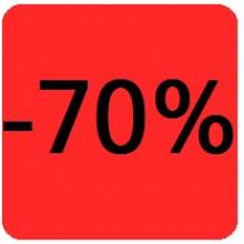 """Etiquettes 38x38 """"-70%"""""""
