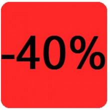 """Etiquettes 38x38 """"-40%"""""""