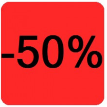 """Etiquettes 38x38 """"-50%"""""""