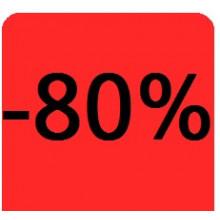 """Etiquettes 38x38 """"-80%"""""""